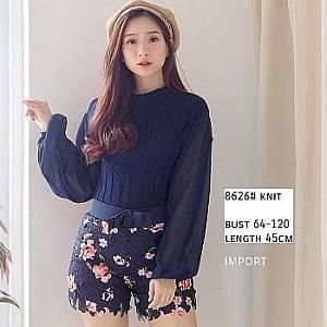 Bc 8626 knit navy