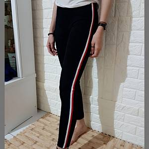 Hs legging kist white red