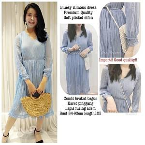 Pm bluesy kimono dress