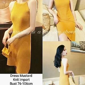 Pm dress mustard