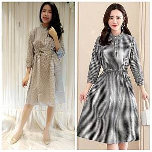 Pm Dress square vintage