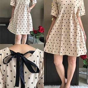 Dress katun motif 8615 - 11