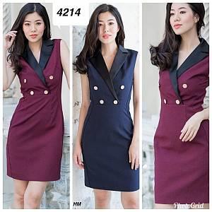Dress scuba 4214