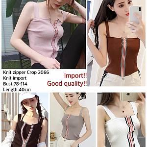 Pm knit zipper 2065
