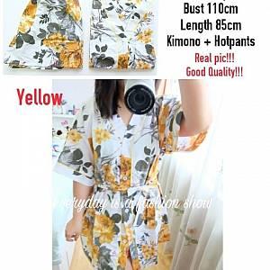 Pm lotus kimono