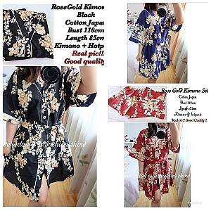 Pm rose gold kimono