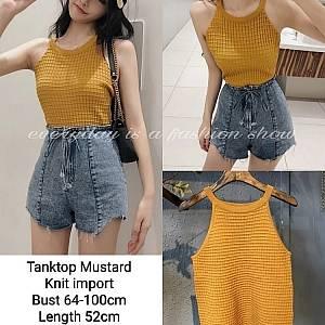 Pm tanktop mustard
