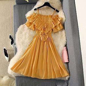 Pm. Dress sharon ruffle