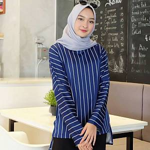 1). Blouse 02 NAVY