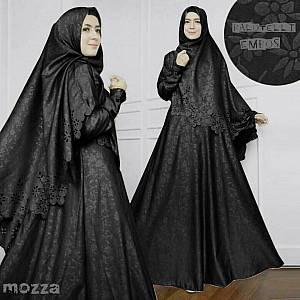46-Mozza syar'i black