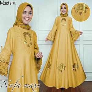 46-Nafa maxi mustard
