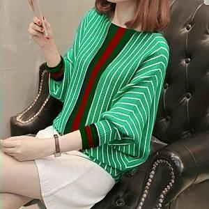 1). Salur Rajut Gucci GREEN