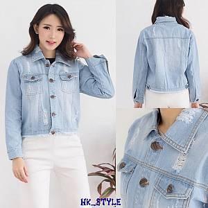 Jaket Jeans Berry Ligth Blue