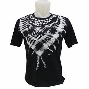 Kaos / T-Shirt Distro / Kaos 3D SORBAN Hitam Pita
