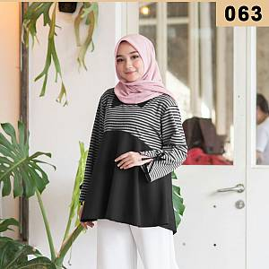 Blouse Salur Black 063