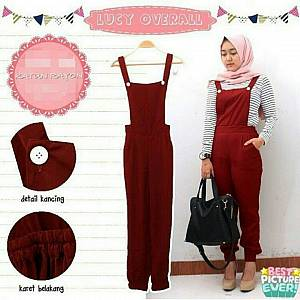 Overall Lucy maroon