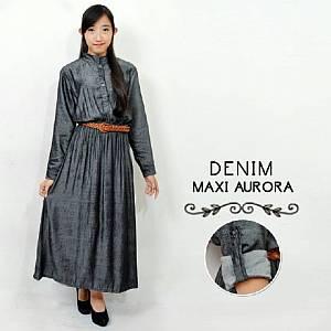Maxi dress Leona black