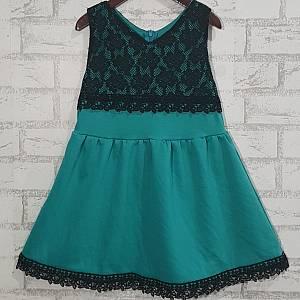 Dress Anak Brukat Tosca