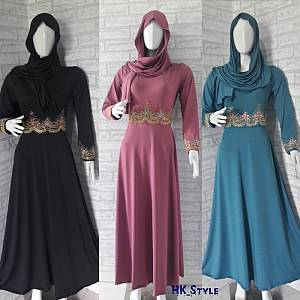 Gamis Shanaya   Phasmina (3 warna)