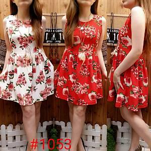 Dress Bunga Cantik (1053)