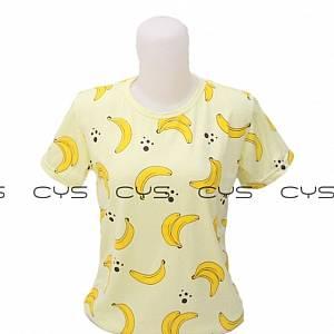 Kaos Banana Yellow