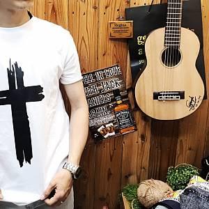 T-Shirt Unisex Jesus (Putih)