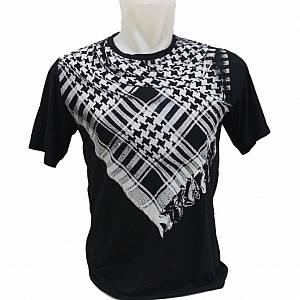 Kaos / T-Shirt Distro / Kaos 3D SORBAN HITAM