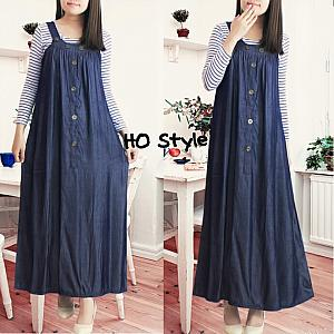Overall pinny salur   inner
