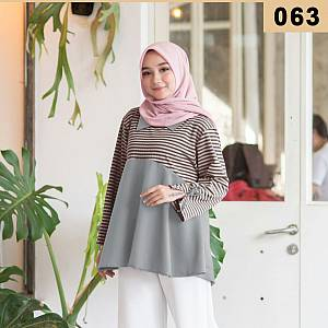 Blouse Salur Grey 063