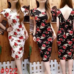 Dress bodycone Ros/TANPA HTM
