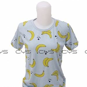 Kaos Banana Grey