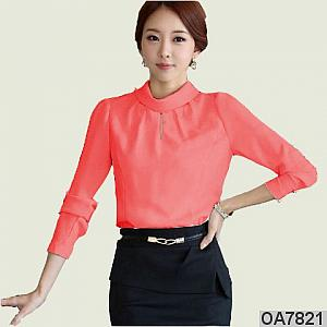 Blouse vaisha peach