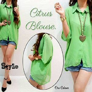 Blouse citrus