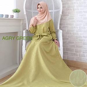 Maxi Dress Agrya Green