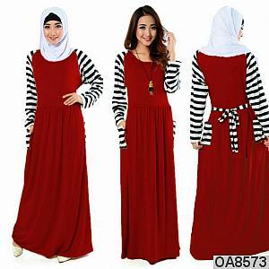 Hijab najwa maroon salur   phasmina