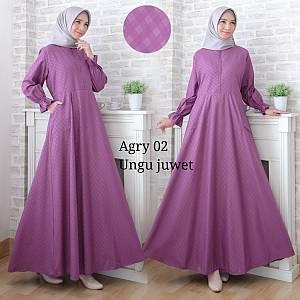 Maxi Dress Agrya Ungu