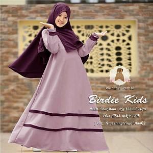 1). Birdie kids purple