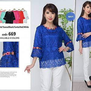 Blouse Brukat Import
