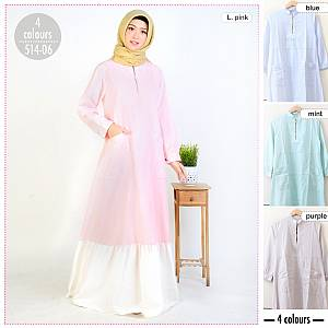 Gamis Polos Duyung