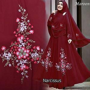 46-Narcisus syar i maroon