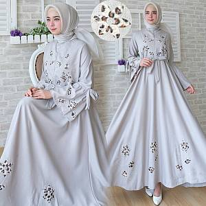 FC- Maxi flower REAL PIC GREY