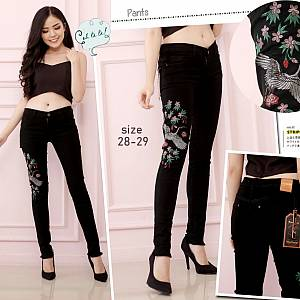 Premium Softjean black Tassel Flamingo Size 27-30