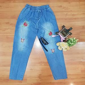 Butterfly Baggie Boyfriend Jeans