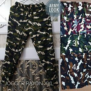 Joger ARMY Rayon XXL