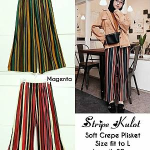 Pm stripe kulot