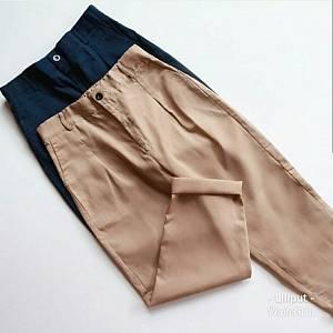 1). sL- Zara Basic Pant Navyy