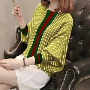 1). Salur Rajut Gucci mustard