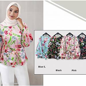 Blouse Ikat Flower Seoul
