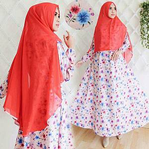 flower syari red