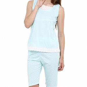 Denia Sleepwear 316 BT ST - Biru